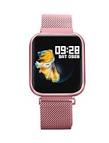 Недорогие -Bozhuo P80 смарт-часы BT фитнес-трекер поддержка уведомлять / монитор сердечного ритма спорт из нержавеющей стали Bluetooth SmartWatch совместимые телефоны IOS / Android