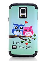 Недорогие -Кейс для Назначение SSamsung Galaxy S7 / S6 edge / S6 Защита от удара Кейс на заднюю панель Животное / Мультипликация ТПУ / ПК