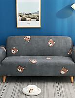 Недорогие -чехлы на диваны коричневые с принтом, полиэстер, чехлы