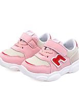 Недорогие -Мальчики Удобная обувь Сетка Спортивная обувь Маленькие дети (4-7 лет) Беговая обувь Черный / Красный / Розовый Весна