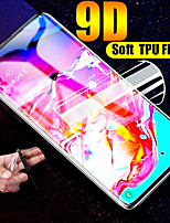 cheap -9d soft silicone tpu clear film for samsung galaxy s10 s10e a50 a70 a80 a90 s10 plus note 8 9 m10 hydrogel film screen protector