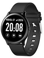Недорогие -KW19 Smart Watch BT Поддержка фитнес-трекер уведомить&монитор артериального давления совместимый Apple / Samsung / Android телефонов