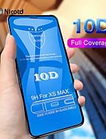 Недорогие -10d закаленное стекло на iphone x 7 8 6 плюс защитная пленка для экрана полная крышка защитное стекло для iphone 6 6s 7 xr xs max пленка