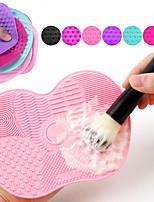 Недорогие -чистящая подушка для макияжа с присоской силиконовый скраб для подкладки для красоты