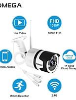 Недорогие -Inqmega ip-камера 1080p 720p водонепроницаемый пуля камера Wi-Fi 360 безопасности ИК-видение беспроводная IP-камера открытый Wi-Fi камеры видеонаблюдения