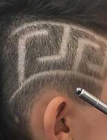 Недорогие -Профессиональная магия выгравировать бороду ножницы для бровей вырезать ручку тату парикмахерская парикмахерские ножницы для бровей масляная головка резьба