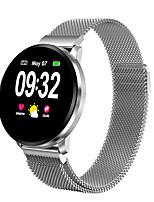 Недорогие -умные часы мужчины водонепроницаемый ip67 кровяное давление спорт женщины smartwatch сердечного ритма умный браслет для android apple ios