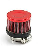 Недорогие -универсальный 25-миллиметровый автомобильный моторный комплект фильтра холодного воздуха вентиляционная часть картера