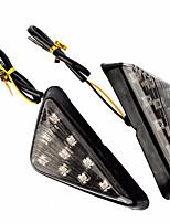 Недорогие -дымовой треугольник скрытого монтажа светодиодные указатели поворота поворотник