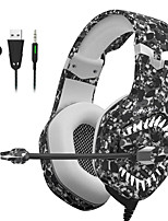 Недорогие -caseier K1-B PRO Игровая гарнитура Проводное Игры С подавлением шума