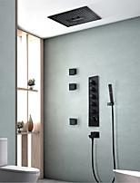 Недорогие -Смеситель для душа - Современный Окрашенные отделки Керамический клапан Bath Shower Mixer Taps