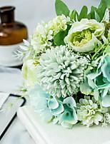 Недорогие -искусственные цветы 1 луч / классические свадебные карманные цветы / цветы пиона / настольные цветы