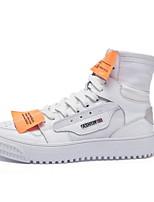 Недорогие -Муж. Комфортная обувь Полотно Лето Кеды Белый / Бежевый