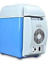 Недорогие -Мини-холодильник Электрический кулер и теплее 7.5 L Один экземляр С теплоизоляцией за Полипропилен + ABS на открытом воздухе Походы Синий