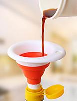 Недорогие -пищевой мини мини телескопическая воронка складной стиль маленькая силиконовая воронка кухонные гаджеты инструменты для приготовления пищи