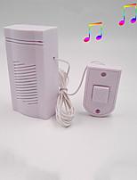 Недорогие -Dingdong проводной дверной звонок электронный дверной звонок домой с линией старомодный простой звук четкий