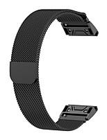 Недорогие -Ремешок для часов для Fenix 5 Garmin Миланский ремешок Нержавеющая сталь Повязка на запястье