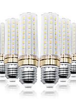 Недорогие -Loende 6шт 9 Вт светодиодные кукурузные фонари 900 лм E26 / E27 т 80 светодиодные шарики smd 2835 теплый белый белый 85-265 В