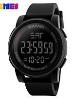 Недорогие -Skmei 1257 открытый моды ночник спортивные многофункциональные индивидуальные водонепроницаемые электронные часы
