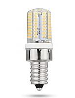 Недорогие -1шт 3 W LED лампы типа Корн 170-200 lm E12 72 Светодиодные бусины SMD 3014 Новый дизайн Декоративная Милый Тёплый белый Холодный белый 12-24 V