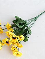 Недорогие -Искусственные Цветы 2 Филиал Классический Modern Пастораль Стиль Подсолнухи Вечные цветы Букеты на стол