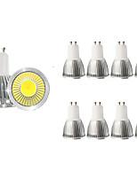 Недорогие -10 шт. 5 W Точечное LED освещение 450 lm GU10 1 Светодиодные бусины COB Декоративная Тёплый белый Холодный белый 85-265 V