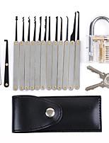 Недорогие -Даниу прозрачный замок практики с 12шт разблокировки отмычки набор ключей экстрактор