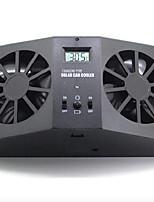 Недорогие -салон автомобиля авто вентиляция на солнечной батарее система охлаждения с вентилятором вентилятор с двумя вентиляторами