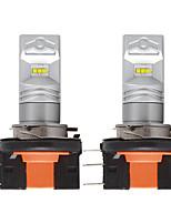 Недорогие -2 шт. / Лот автомобиль h15 светодиодные с чипом csp 6smd drl светодиодные привет / ло авто противотуманные фары дневного света поворота лампы фары для audi bmw mercedes dc12v