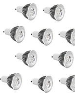 Недорогие -10 шт. 3 W Точечное LED освещение 250 lm E14 GU10 GU5.3 3 Светодиодные бусины Высокомощный LED Декоративная Тёплый белый Холодный белый 85-265 V