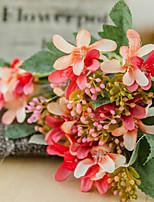 Недорогие -Искусственные Цветы 1 Филиал Классический европейский Пастораль Стиль Лилии Букеты на стол