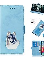Недорогие -чехол для apple iphone xs / iphone xr / iphone xs max кошелек / держатель карты / противоударный чехол для всего тела из искусственной кожи для iphone 8 plus / iphone 7 plus / iphone 6s plus / iphone