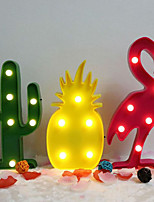 cheap -Flamingo Cactus Pineapple Decoration Table Lamp 1pc