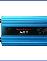 Недорогие -Постоянный инвертор usb 1000w бортовой dc 24v к инвертору силы автомобиля ac 110v