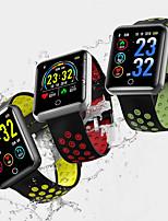 Недорогие -Q18 квадратный экран цветной экран смарт-часы мониторинг артериального давления артериального давления 1,5 м ip68 водонепроницаемый