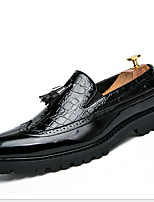 Недорогие -Муж. Обувь Bullock Полиуретан Лето Мокасины и Свитер Дышащий Черный / Белый / Красный