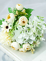 Недорогие -Искусственные Цветы 1 Филиал Классический Свадьба Свадебные цветы Розы Гортензии Пионы Букеты на стол