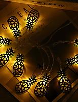 Недорогие -2 м ананасовые гирлянды 10 светодиодов желтый дом декоративные 220-240 В 1 компл.