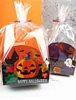Недорогие -Хэллоуин пластиковые конфеты мешок праздничные украшения партии печенье сумки хэллоуин поставок