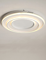 Недорогие -CONTRACTED LED® 3-Light Линейные / геометрический Потолочные светильники Рассеянное освещение Окрашенные отделки Металл LED, Новый дизайн 110-120Вольт / 220-240Вольт Теплый белый / Белый