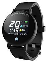 Недорогие -E03 умный браслет q8 спорт на открытом воздухе фитнес-браслет Bluetooth сердечного ритма монитор калорий трекер цветной экран умные часы