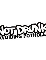 Недорогие -не пьян, избегая выбоин, моды, автомобиль, светоотражающие предупреждающие наклейки