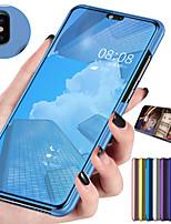 Недорогие -смарт-зеркало флип чехол для xiaomi cc9 mi cc9e mi 9t pro mi 9t чехол ясный вид искусственная кожа подставка для ног откидная крышка