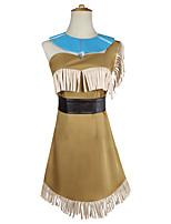 Недорогие -Вдохновлен Косплей Принцесса Аниме Косплэй костюмы Японский Косплей Костюмы Платье / Пояс на талию / Neckwear Назначение Жен.