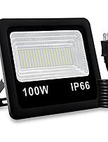 Недорогие -1шт 100 W LED прожекторы Водонепроницаемый / Новый дизайн / Декоративная Тёплый белый / Белый 85-265 V Уличное освещение / двор / Сад 200 Светодиодные бусины