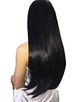 Недорогие -3 Связки Бразильские волосы Прямой Не подвергавшиеся окрашиванию 100% Remy Hair Weave Bundles Человека ткет Волосы Удлинитель Пучок волос 8-28 дюймовый Нейтральный Ткет человеческих волос