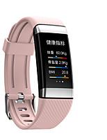 Недорогие -F10 смарт-браслет Bt фитнес-трекер поддержка уведомлений / монитор сердечного ритма водонепроницаемый SmartWatch совместимые телефоны IOS / Android
