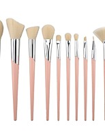 Недорогие -профессиональный Кисти для макияжа 10 шт. Мягкость удобный Пластик за Косметическая кисточка