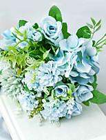 Недорогие -Искусственные Цветы 1 Филиал Классический Свадьба Свадебные цветы Розы Букеты на стол