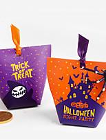 Недорогие -Хэллоуин бумажный мешок тыквы праздничные украшения партии подарочные пакеты хэллоуин поставок